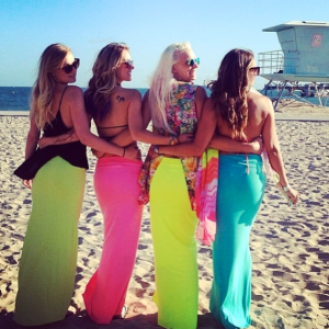 beach girls